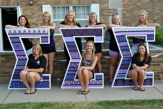 Ladies of Tri Sigma