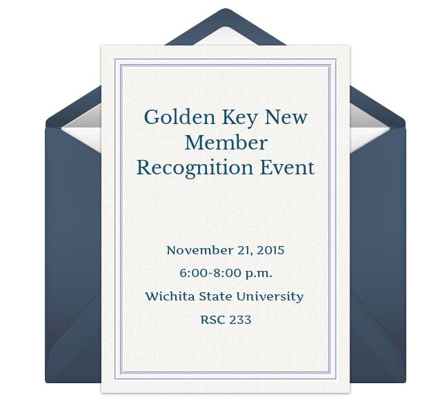 New Member Recognition Event- 11.21.2015