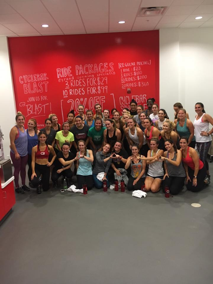 Cyclebar Sisterhood