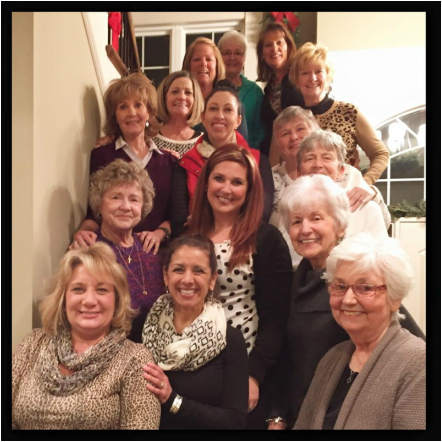 Bunco and Pizza Night, January 2015
