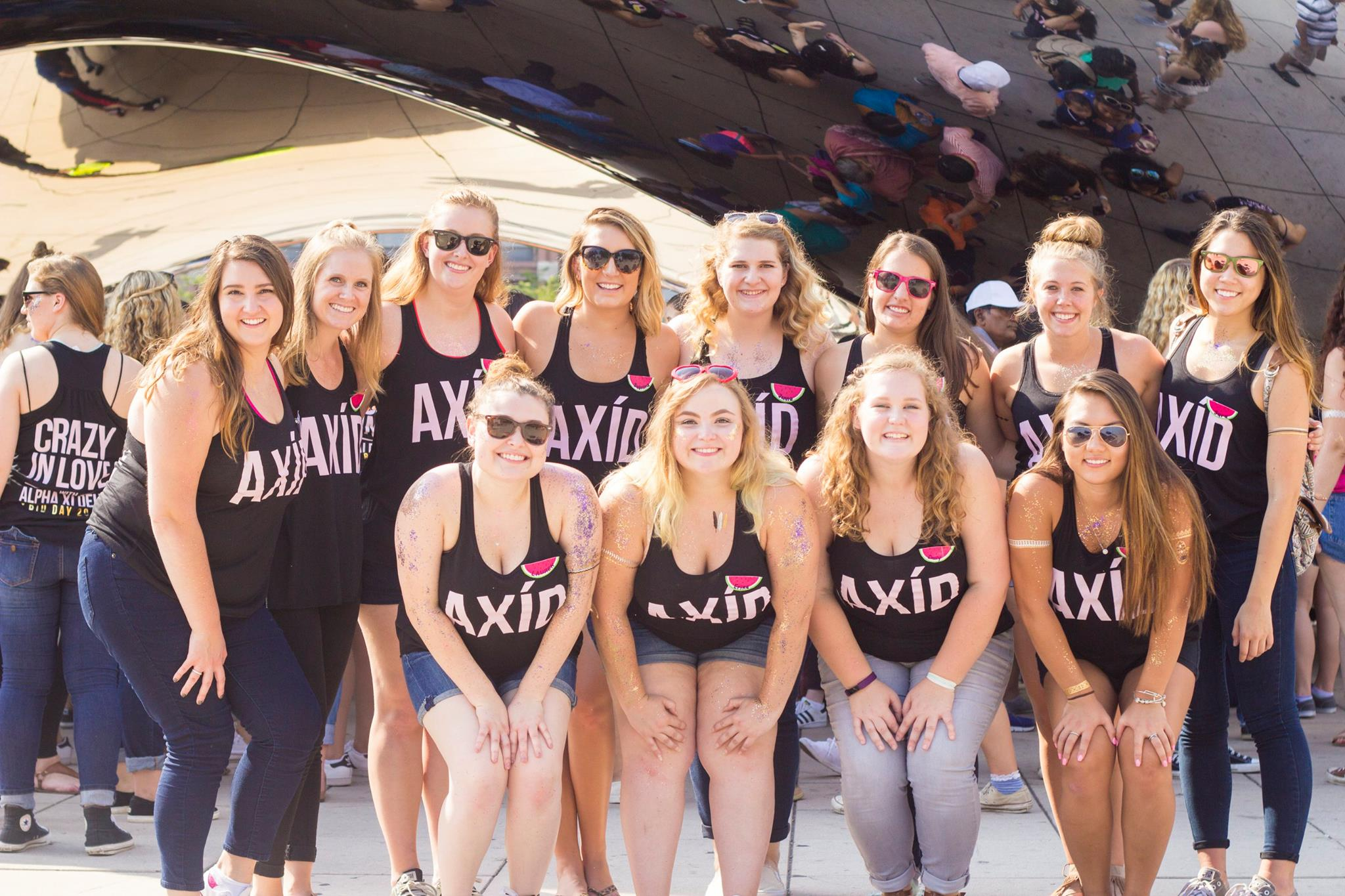 Bid Day 2016 - Crazy In Love with AXiD