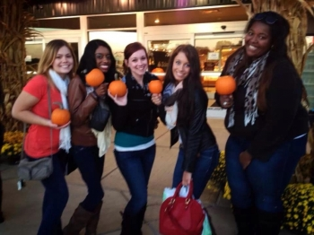 Sisterhood: Pumpkin Patch Fall 2013