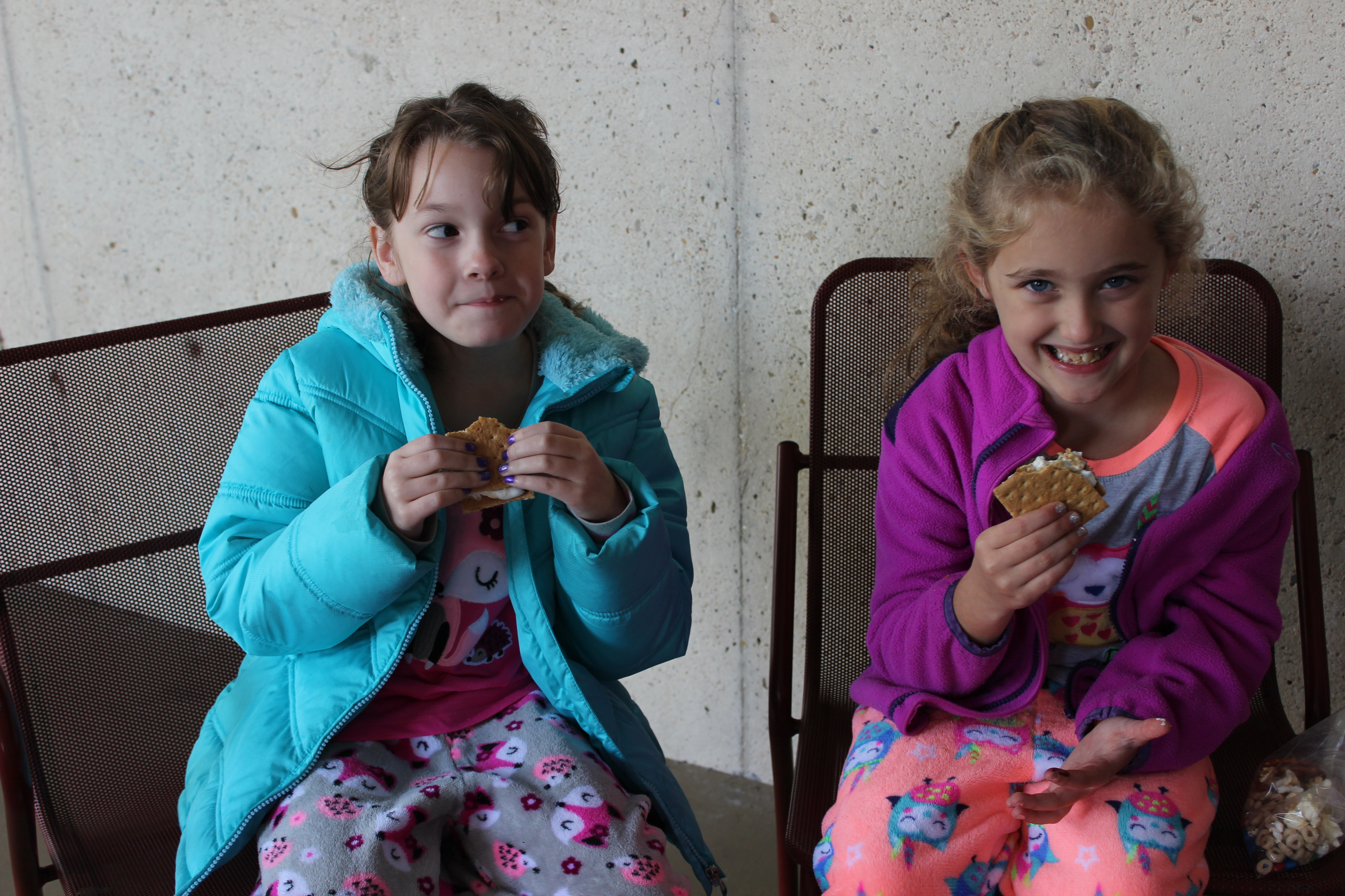 Girl Scouts Go Glamping