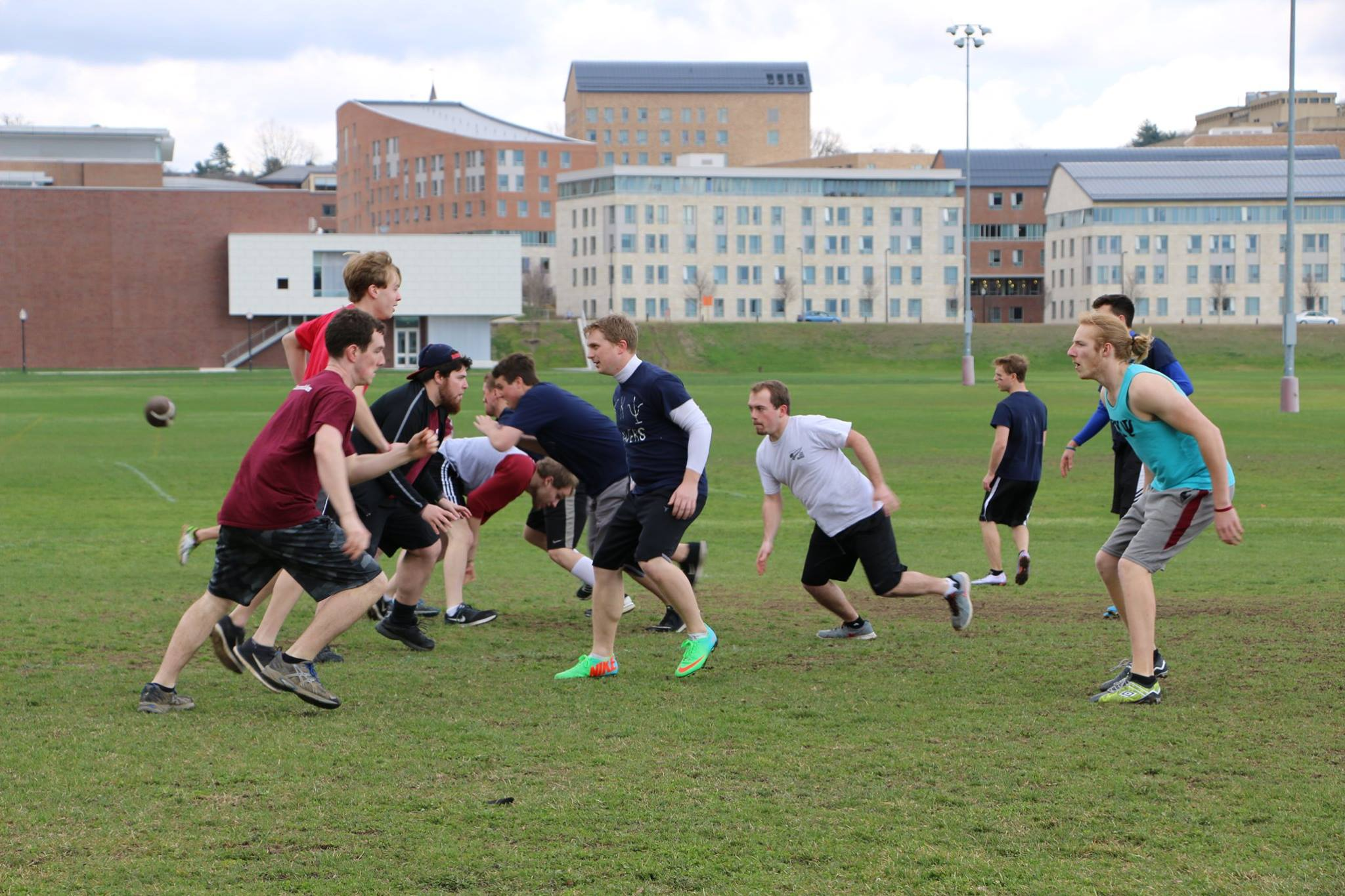 ΦΜΑ vs. ΚΚΨ Football Game - April 2, 2016