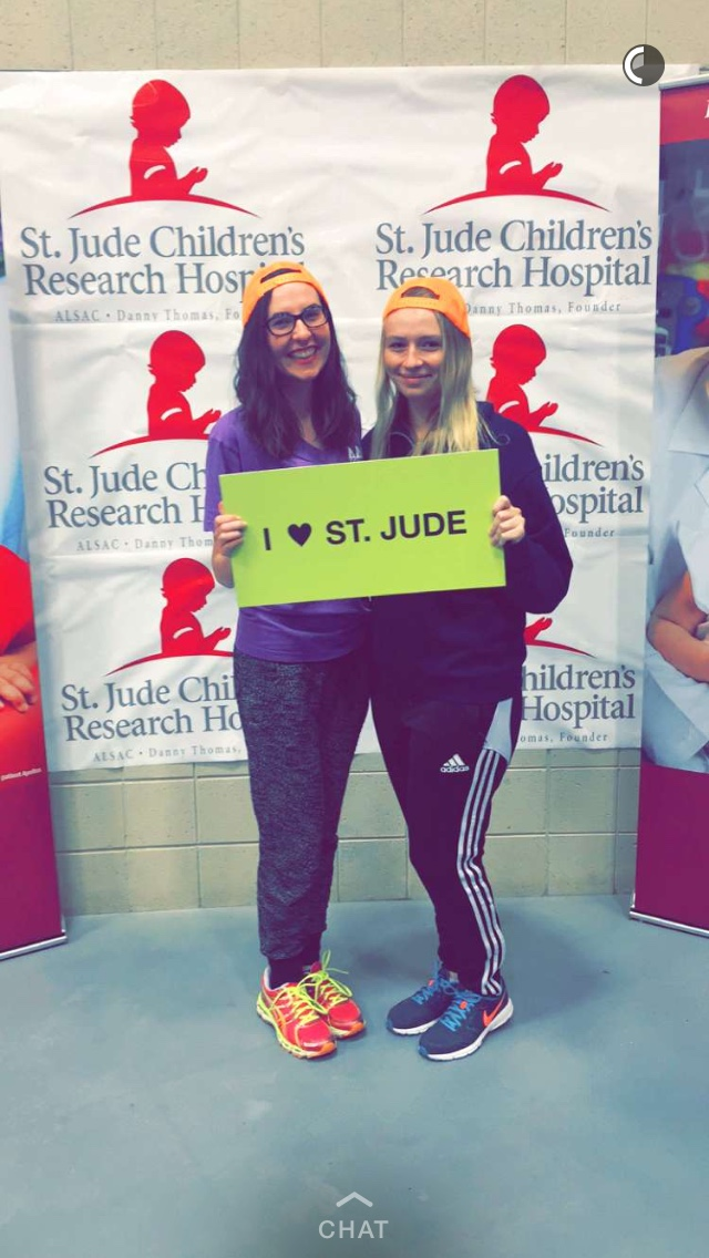Tri Delta and Allegheny Up 'Til Dawn Support St. Jude