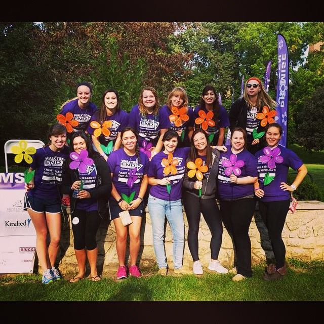 Walk to End Alzheimers 2014