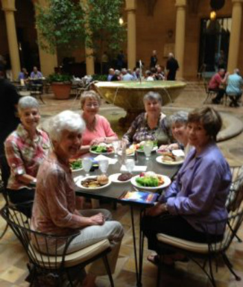 Book Club visits the Nelson-Atkins Museum of Art