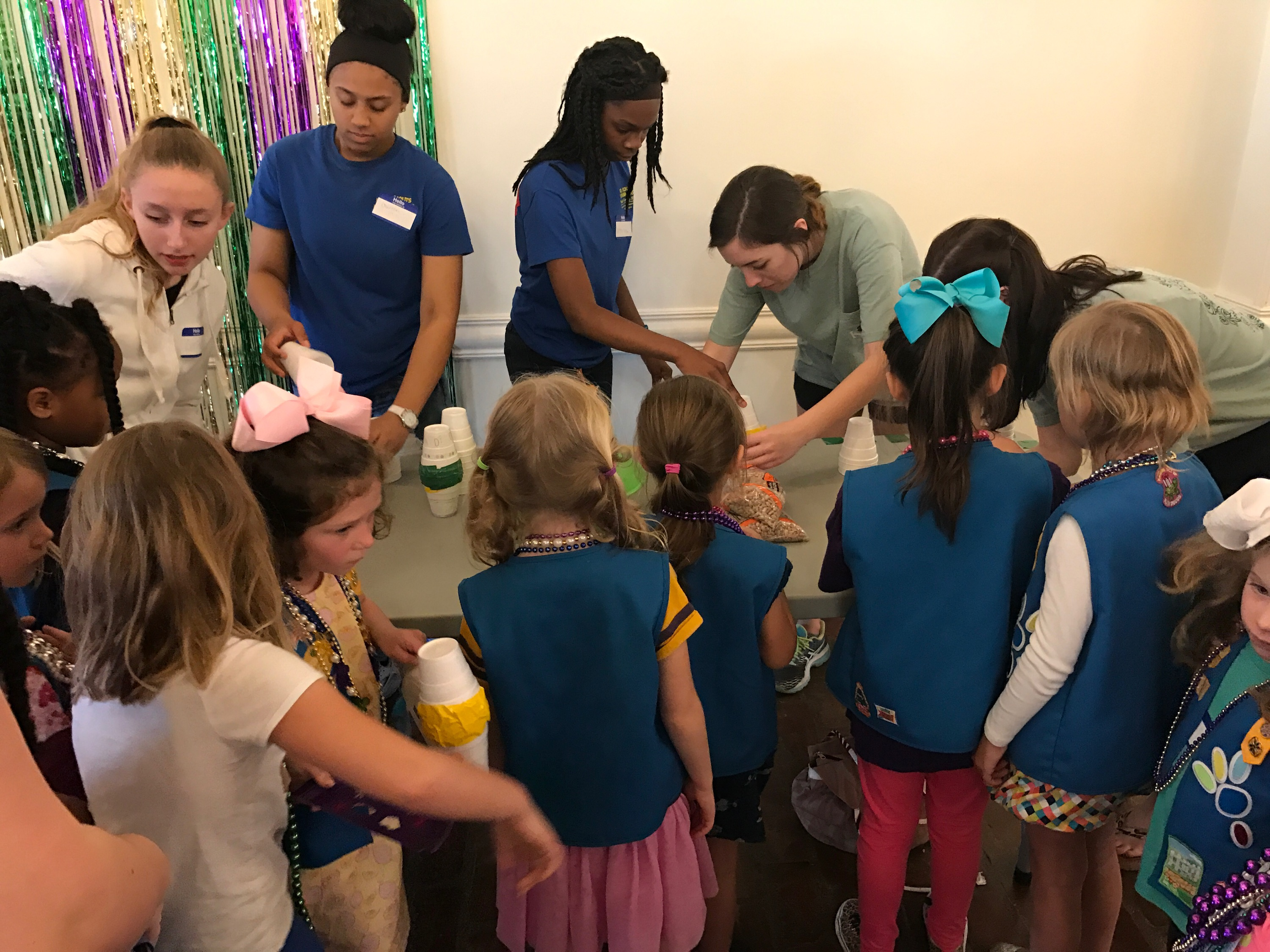 Mardi Gras Girl Scout Event 2017
