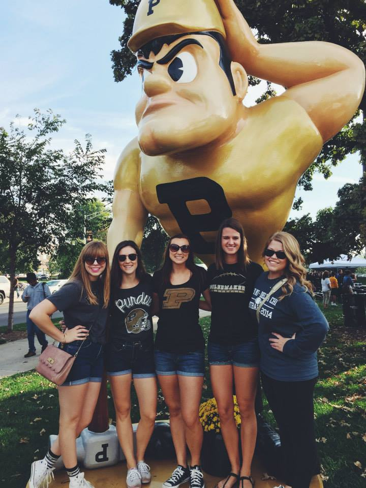 Boiler Up! School Spirit