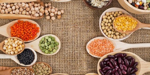 Sebzeler, meyveler, tahıllar ve süt ürünleri...