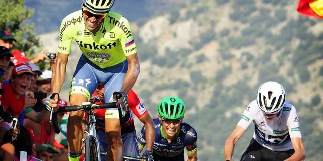 Contador dişini sıka sıka çıkıyor