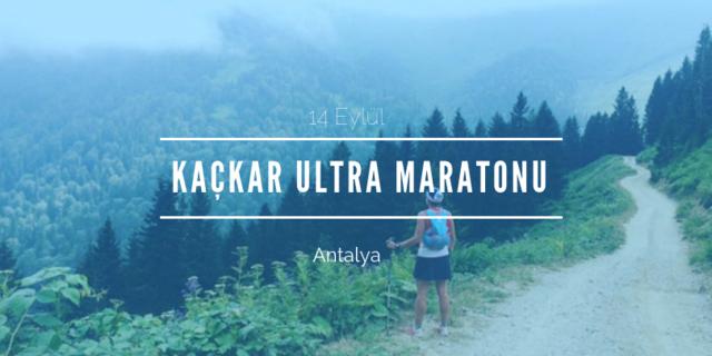 Kaçkar Ultra Maratonu 2019