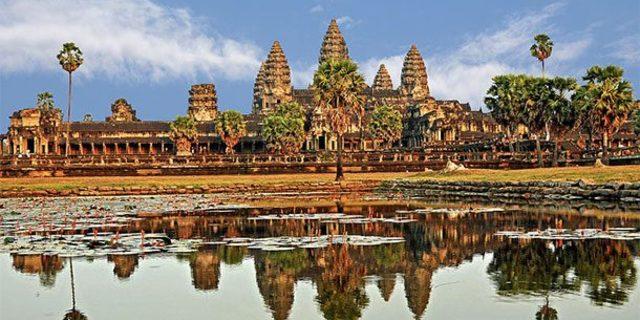 Görkemli tapınağın 12. yüzyılda inşa edildiği söyleniyor