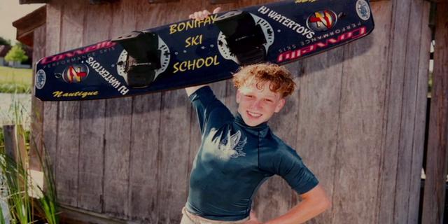 """""""O zamanlar wakeboard da oldukça 'gençti'. Yani yeni hareketler icat etmek için önünüz açıktı."""""""