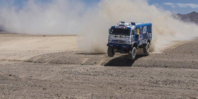 Dakar Rallisi'nde kamyonlara da yer var