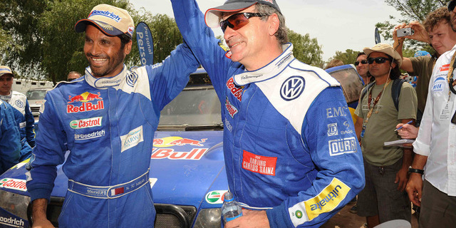 Carlos Sainz & Nasser Al Attiyah
