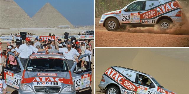 """""""Milenyuma girmenin şerefine Dakar, heyecanı tarihi bir sos ile daha şık hale getirdi."""""""