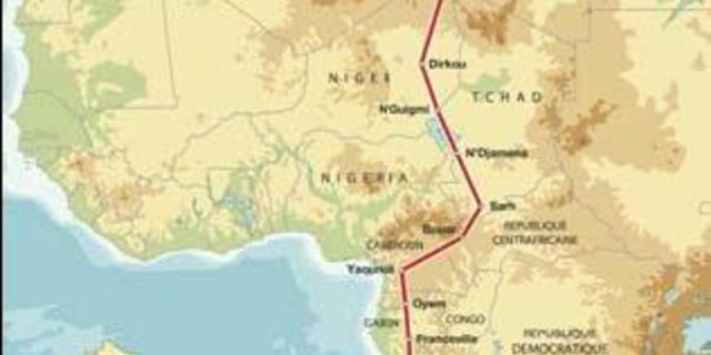 Dakar'ın 1992 yılı rotası