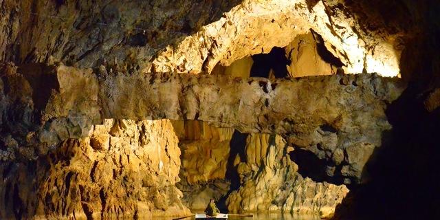 Mağaranın içi de dışı kadar gizemli
