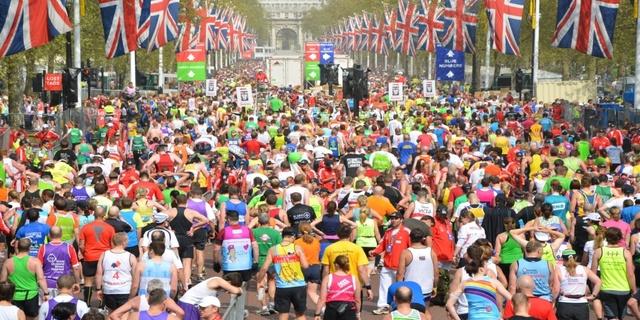 Londra Maratonu Halk Koşusu