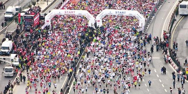 34'üncü maratonun başlangıç anı…