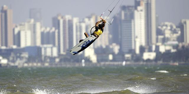 Kitesurf heyecanı Hainan'da