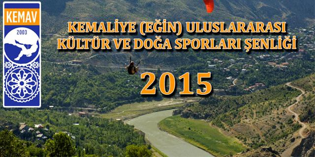 37'nci Kemaliye Uluslararası Kültür ve Doğa Sporları Şenliği