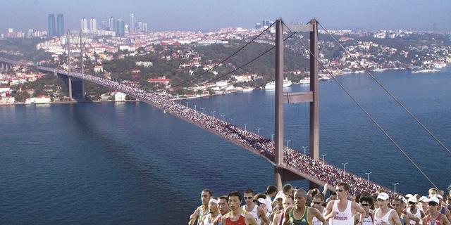 Dünyada iki kıta arasında koşulan tek maraton
