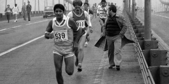 80'li yıllardan bir Avrasya Maratonu görüntüsü