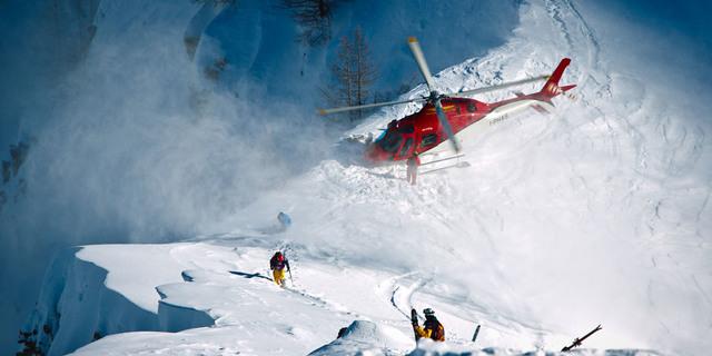 Avrupa'nın heliskiing cenneti: Mont Blanc