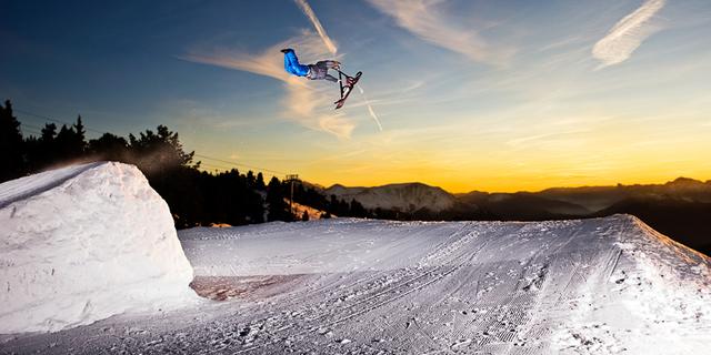 İleri seviye snowscoot teknikleri