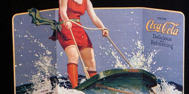 Aquaplane'in 1920'li yıllarda yaygın bir spor olduğunu Coca-Cola'nın reklam kampanyalarında kullanılmasından anlayabiliyoruz…