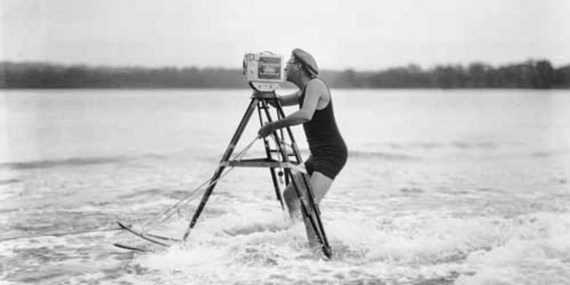 Patenti alınan ilk su kayağı sportif nedenlerle tasarlanmadı….