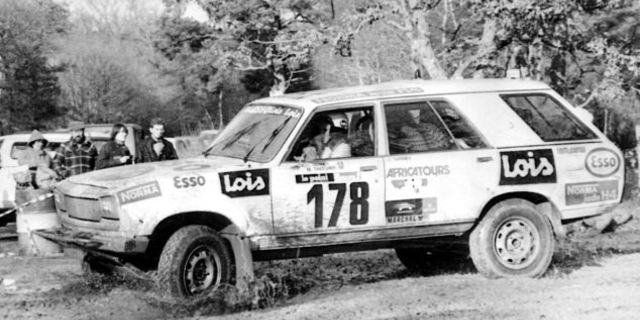 Peugeot 504'ün Dakar için pek de uygun olmadığını anlamaları fazla uzun sürmedi…