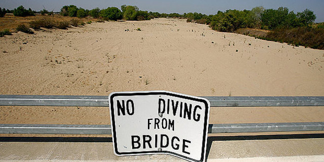 California kuraklıkla mücadele ediyor