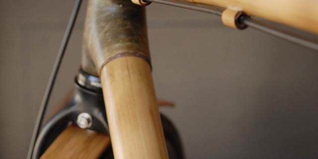 Bambu ve bisikletin zerafeti bir arada