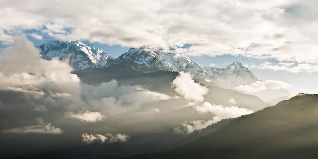 Tüm heybetiyle: Annapurna