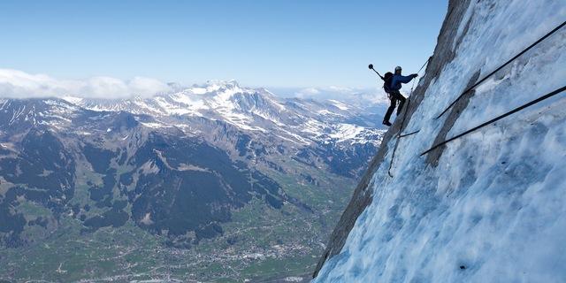Eiger'in yüksekliği 4000 metre bile değil ama…