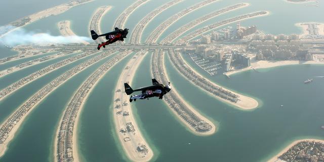 Jetman'ler Dubai semalarında…