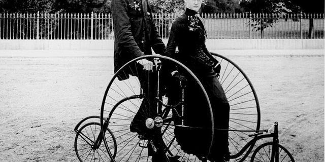 İlk bisikletler haliyle biraz farklıydı