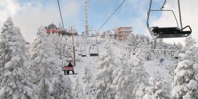 Bursa'dan kalkan teleferik Uludağ ulaşımını kolaylaştırıyor
