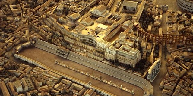 Roma Hipodromu'nun rekonstrüksiyonu…
