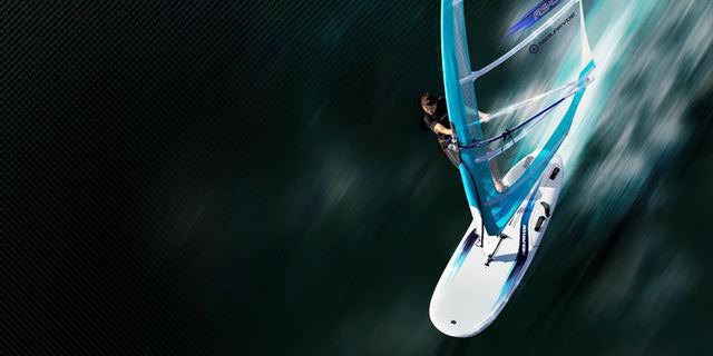 Rüzgar sörfü rüzgarsız havada bile yapılabiliyor