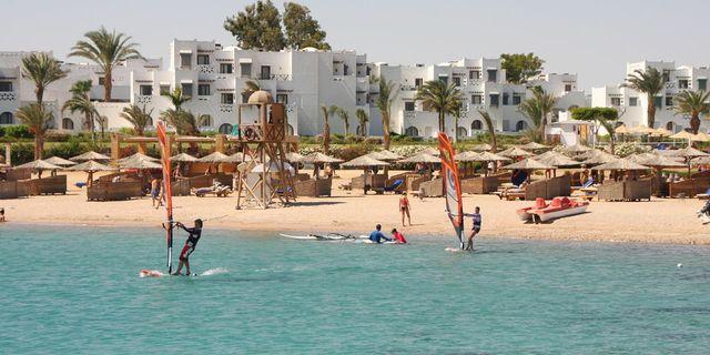 Hurghada'da suyun üstü kadar altı da güzel