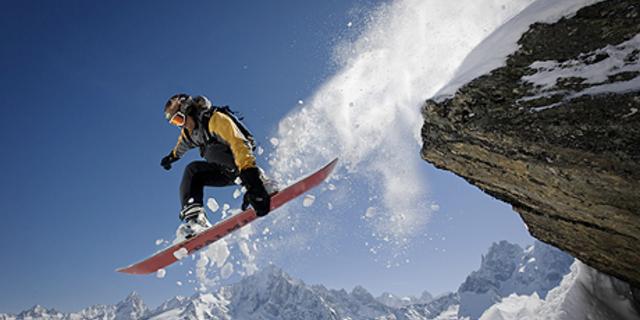 Snowboard için kar olsun yeter