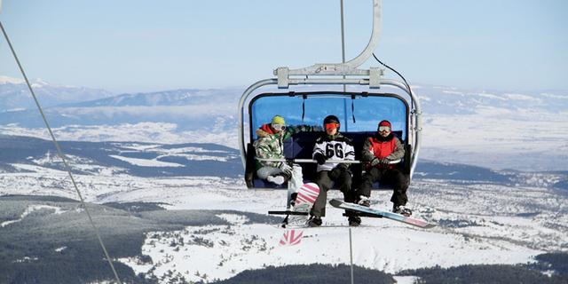 Kartalkaya - Snowboard'cular için özel park burada!