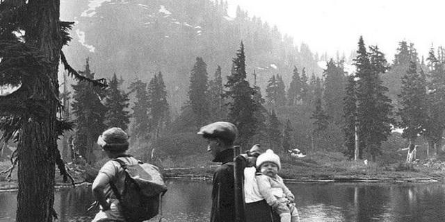 Doğada yürümek 1950'lerde hobi olarak algılanmaya başladı