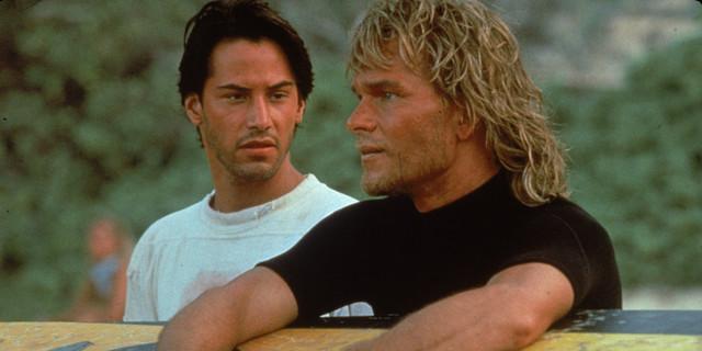 İlk filmin unutulmaz ikilisi: Utah (Keanu Reeves) ve Bodhi (Patrick Swayze)