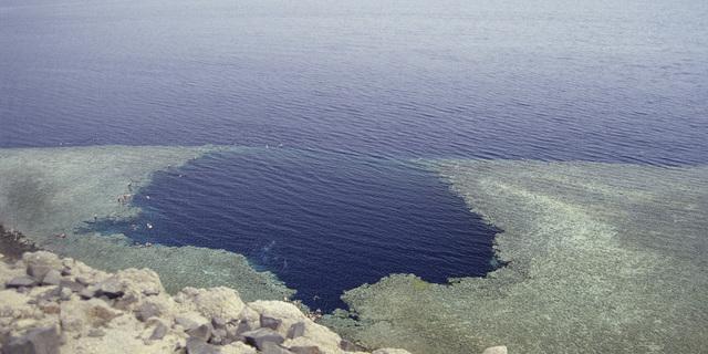 Mavi Delik, Mısır