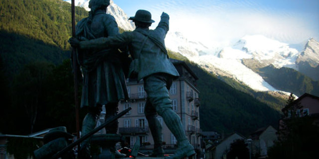 Michel Picard ve Jacques Balmat, Mont Blanc'ı fethettiler